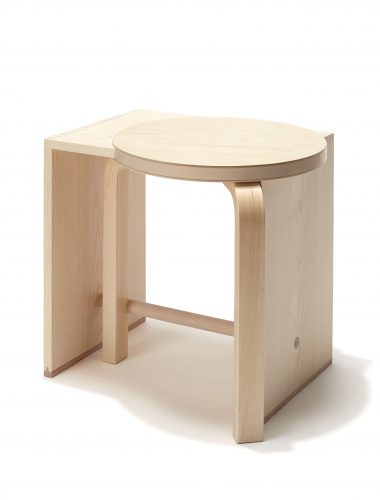 Preview image Ulmer Mélange #01 / stool