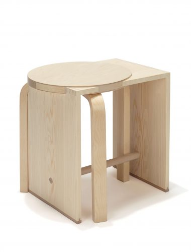 Preview image Ulmer Mélange #1 / stool