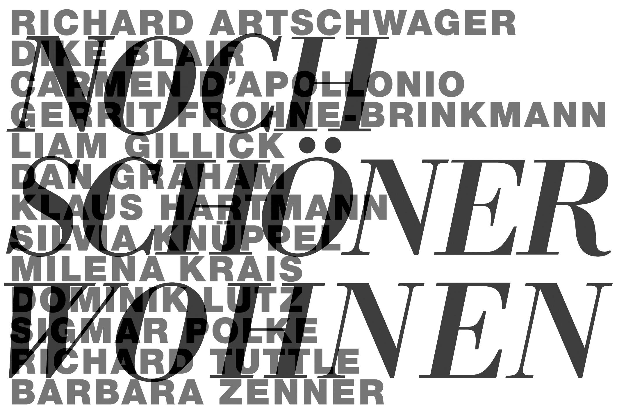 Preview image Noch Schöner Wohnen, Galerie Jürgen Becker Hamburg