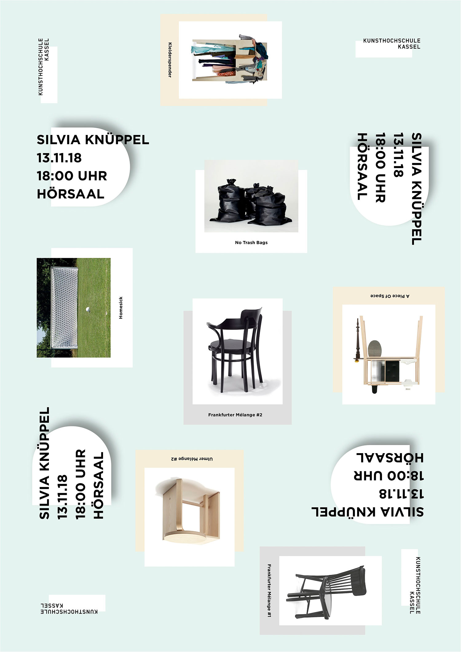 Preview image Visiting Lecturer at Kunsthochschule Kassel / Department Product Design