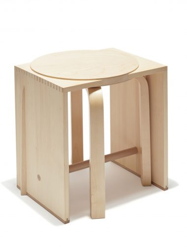 Preview image Ulmer Mélange #02 / stool