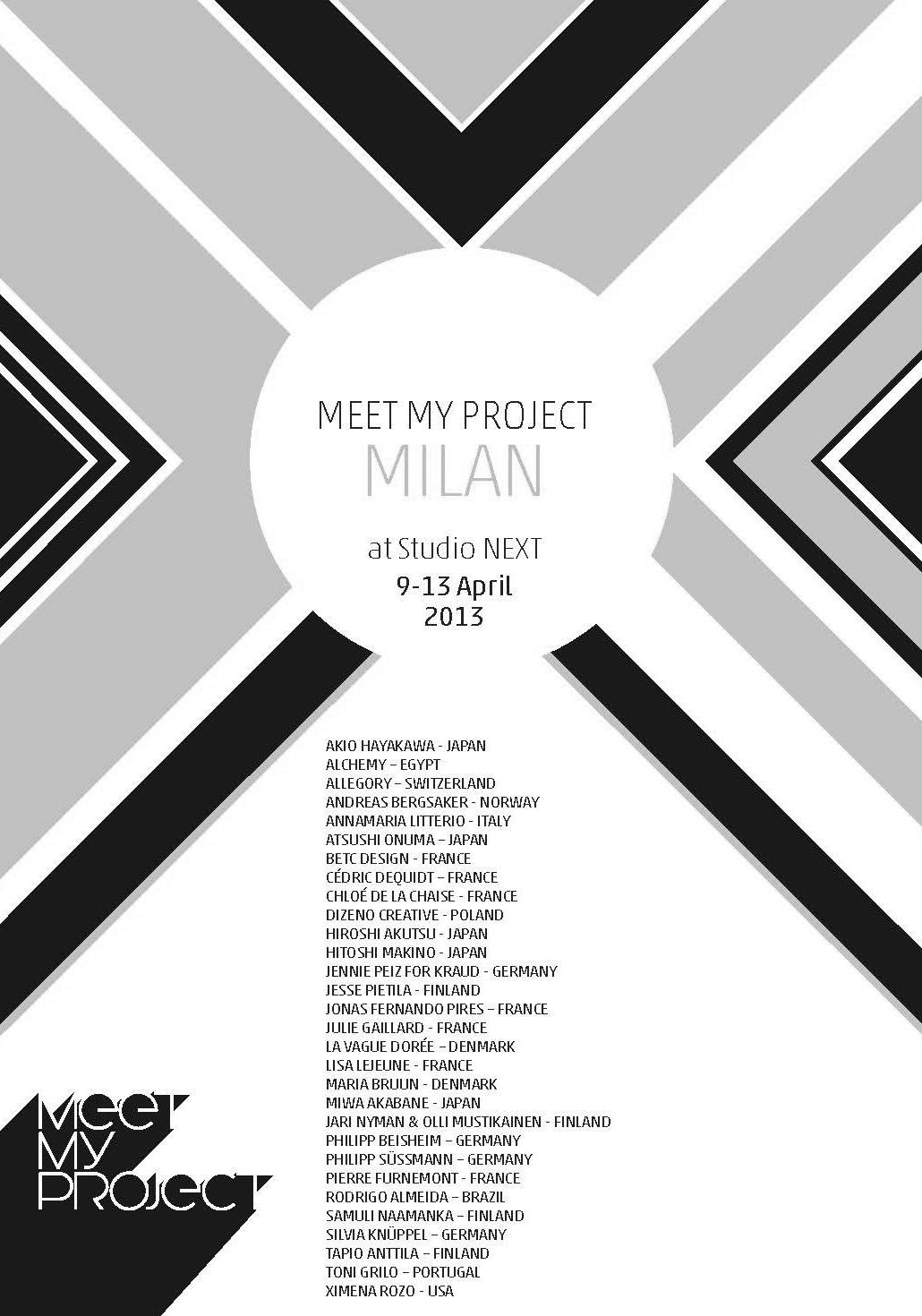 Preview image International Furniture Fair Milan / Meet my Project