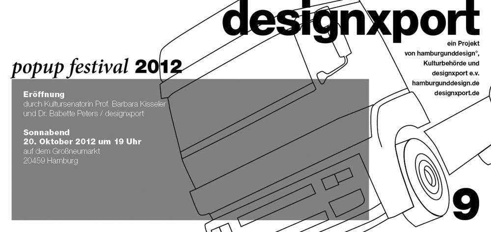 Preview image Designxport Popup Festival Hamburg