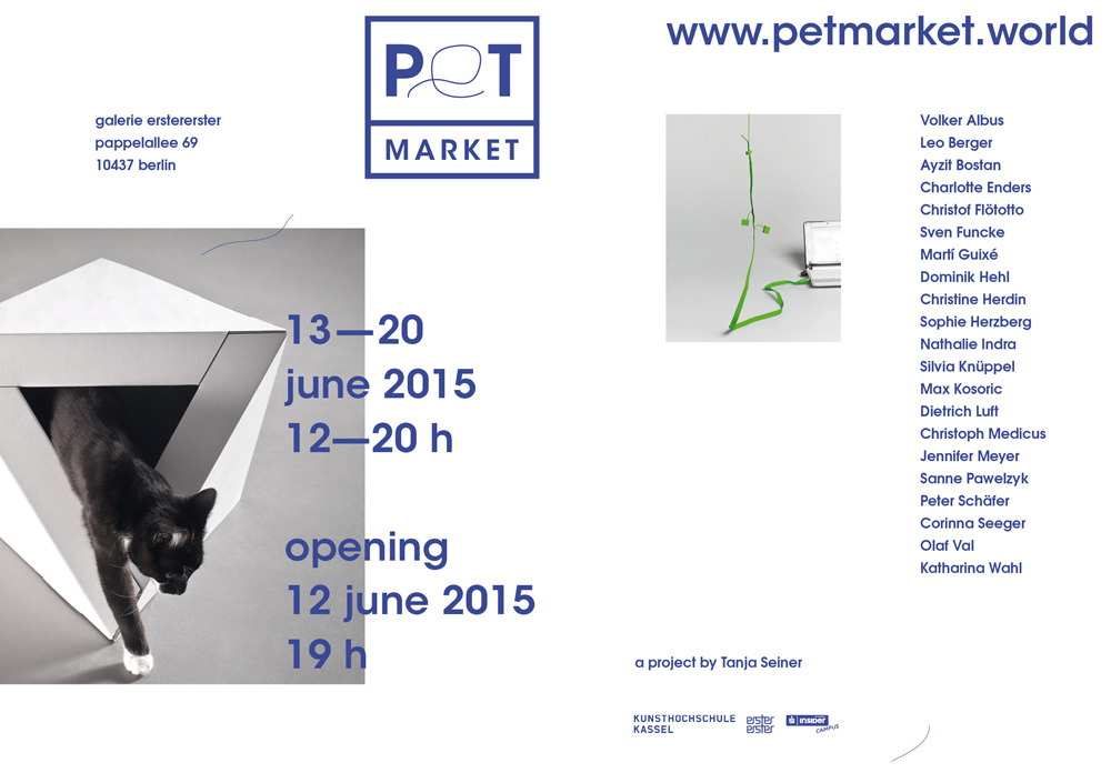 Preview image PET MARKET /   Galerie erstererster Berlin