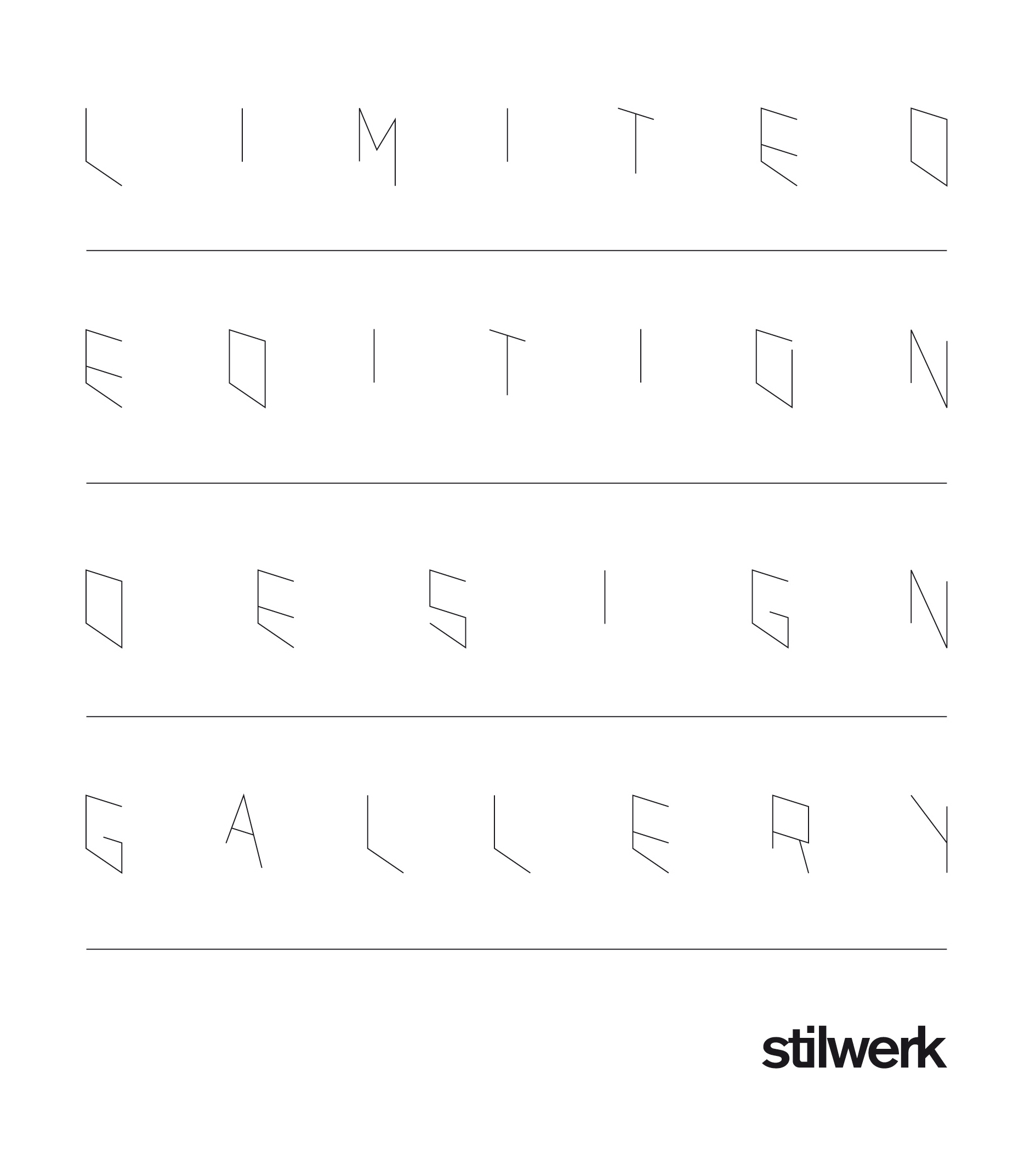 Preview image Textile Everywhere / Stilwerk Limited Edition Design Gallery, Hamburg